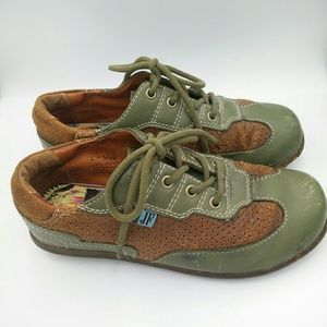 VTG JOHN FLUEVOG Lace Up Comfort Shoes M 6 W 8